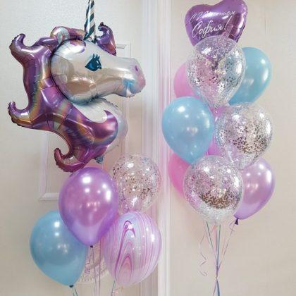 Единороговое счастье 2 - набор из воздушных шаров