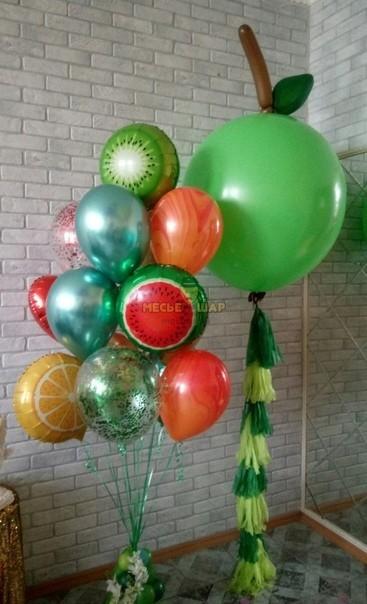 Фруктовое настроение - набор из воздушных шаров