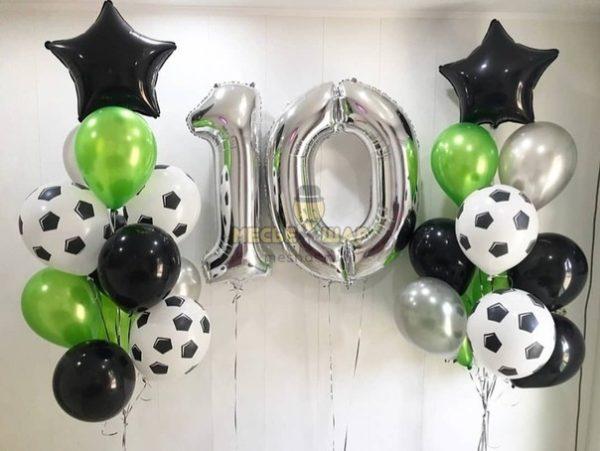 Футболый гол - набор из воздушных шаров