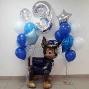Гонщик спешит - набор из воздушных шаров