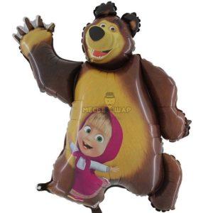 Маша и медведь вместе