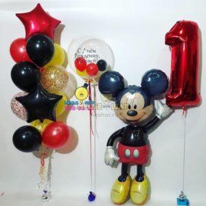 Микки Маус - набор из воздушных шаров