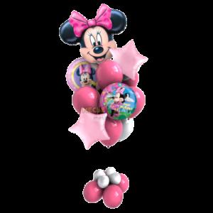 Минни Маус в связке из шаров
