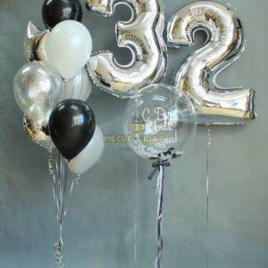 Брауни - набор из воздушных шаров