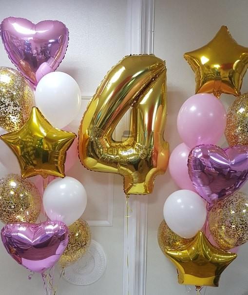 Для милашки - набор из воздушных шаров