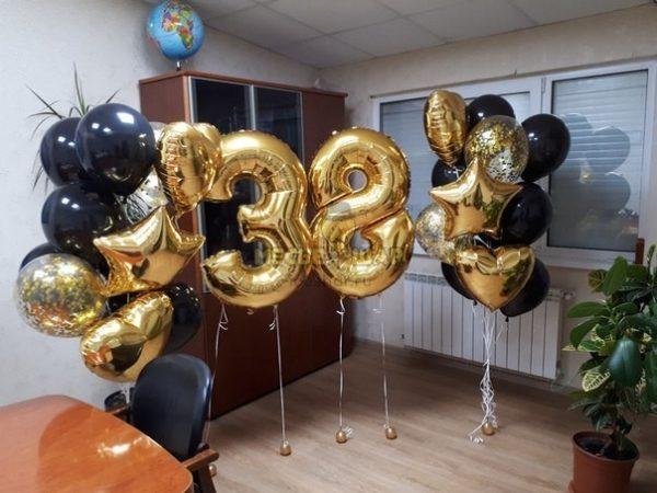 Улетный - набор из воздушных шаров