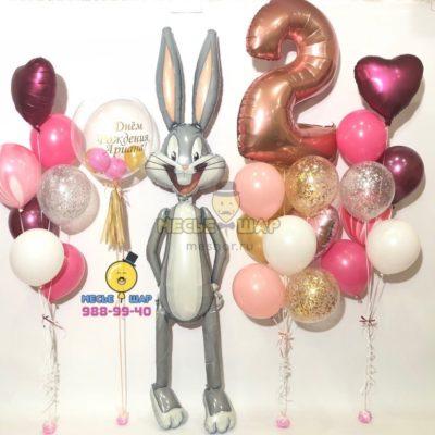 Набор Багз Банни из воздушных шаров