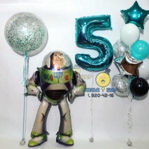 Баз Лайтер с шарами - набор из воздушных шаров