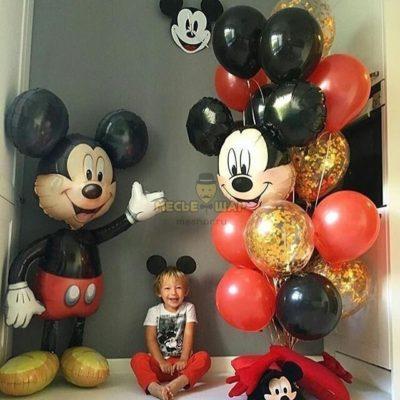 Набор из шаров с Микки Маусом