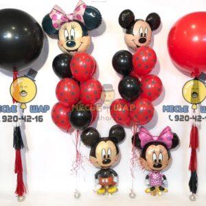 Набор Микки и Мини Маус из шариков