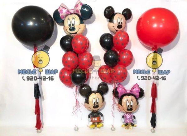 Набор Микки и Минни Маус из шариков