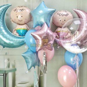 Набор на выписку 24 из воздушных шаров