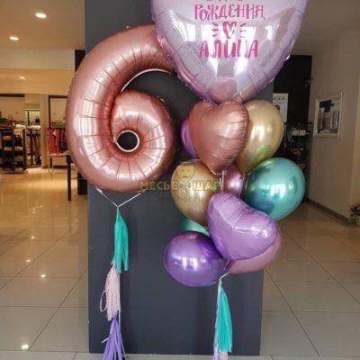 Набор Великолепие из воздушных шаров