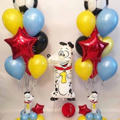 Веселый праздник из шаров