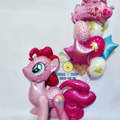 Пинки Пай из шариков
