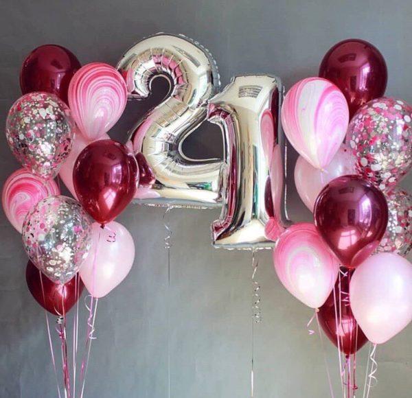 Приятный сюрприз из воздушных шаров