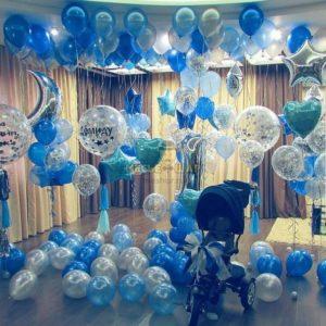 Пышный праздник - набор из воздушных шаров