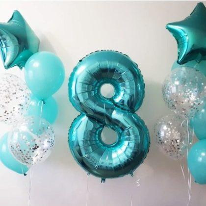 Тиффани - набор из воздушных шаров