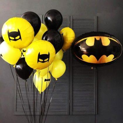Набор Бэтмен черный из шариков