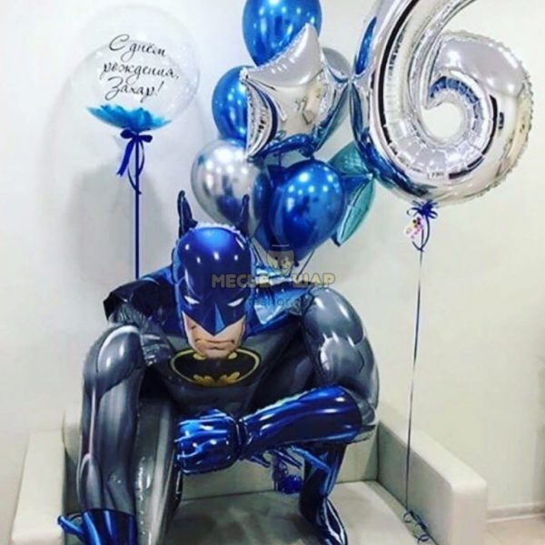 Набор супергерои Бэтмен из шаров
