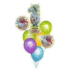 Малышарики из воздушных шаров