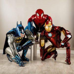 Супергерои из воздушных шаров
