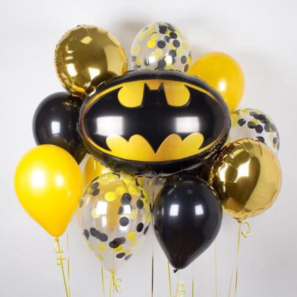 Вау, Бэтмен из воздушных шаров