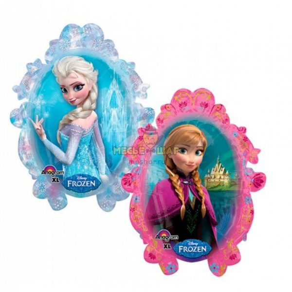 Зеркало Эльза и Анна