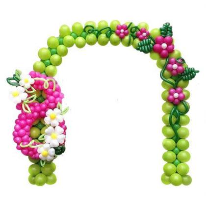 Арочка из шаров к 8 марта