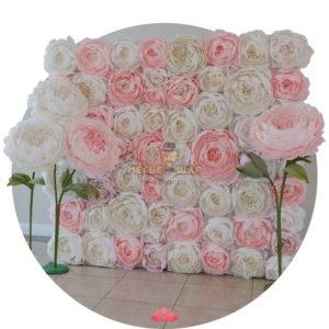 Цветочная стена к 8 марта