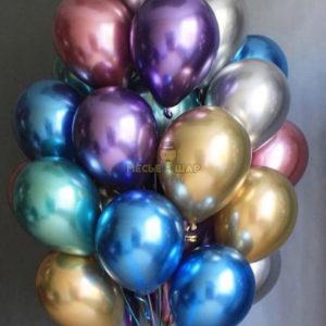 Цветные шары Хром