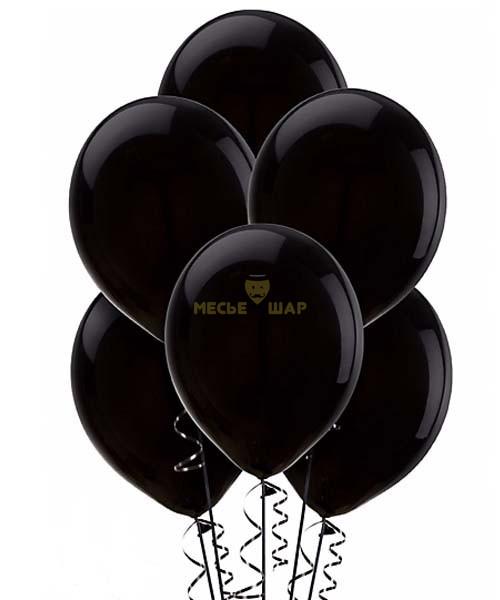 Черные шары Пастель