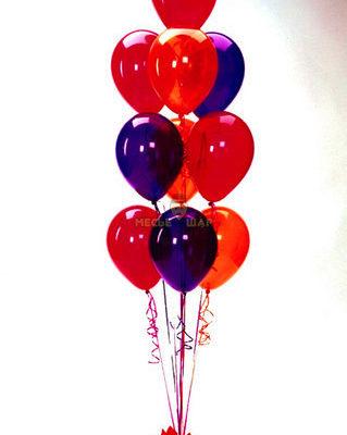 Фонтан из 10 шаров на открытие магазина