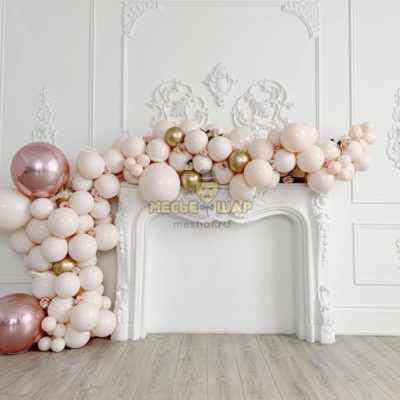 Гирлянда украшение из шаров