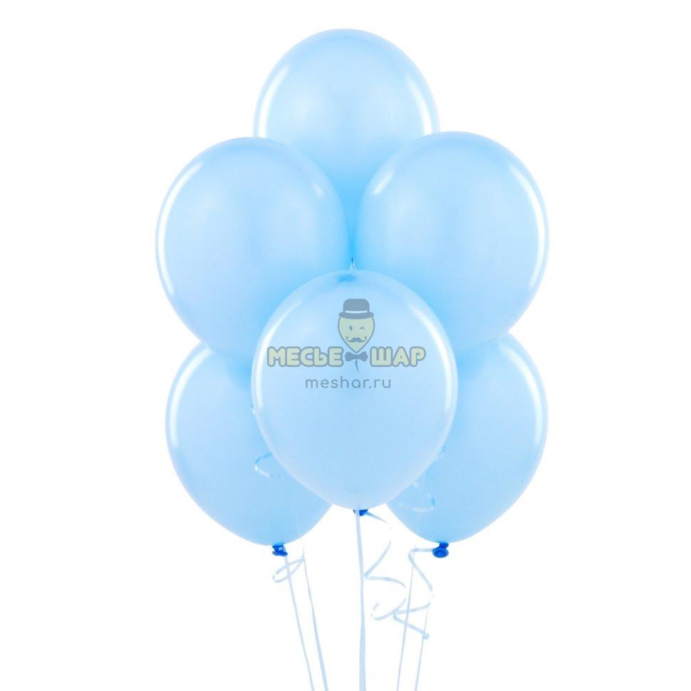 Голубые шары Пастель