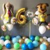 Набор 2 Барбоскины из шаров