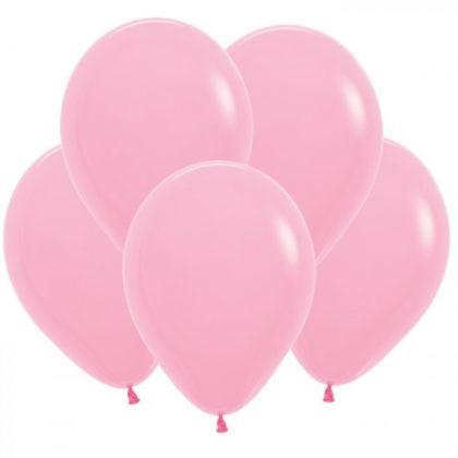 Розовые шары Пастель