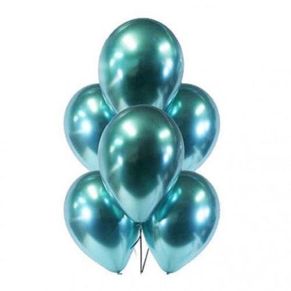Бирюзовые шары Хром