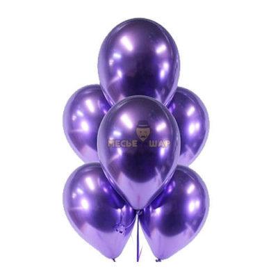 Фиолетовые шары Хром
