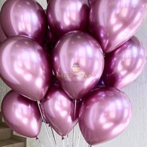Розовые шары Хром