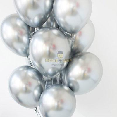 Серебряные шары Хром