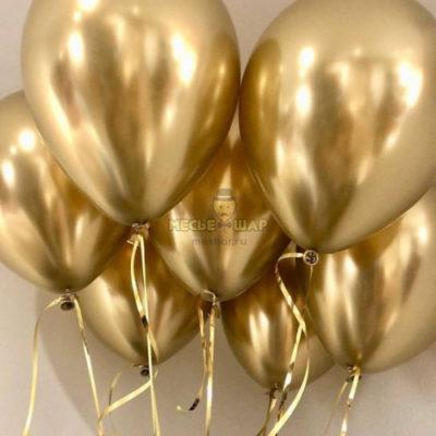 Золотые шары Хром