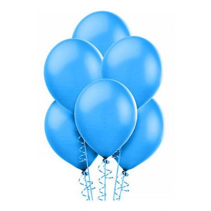 Синие шары Пастель