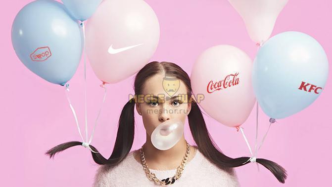 Реклама и печать на воздушных шарах