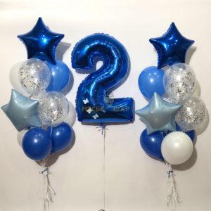Хит #17 из шаров