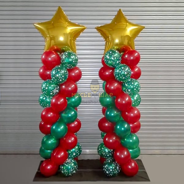 2 стойки Красно-зеленые, 1.5м