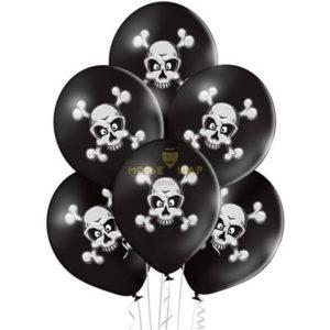 Череп и кости шары