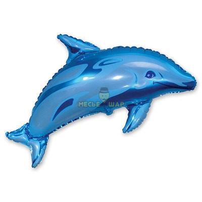 Дельфин шар 80см