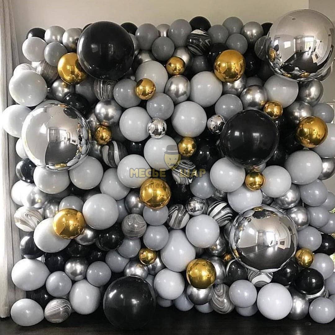 Фотозона Черно-серая