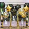 Фотозона Черная Золотой шик